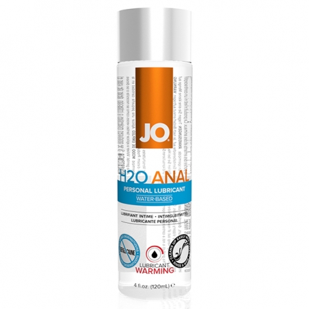 Image of System JO Anal H20 Lubricant Warming