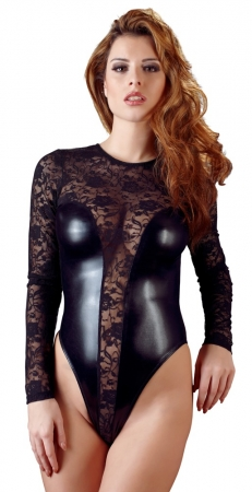 Cottelli Spitzen Wetlook Body