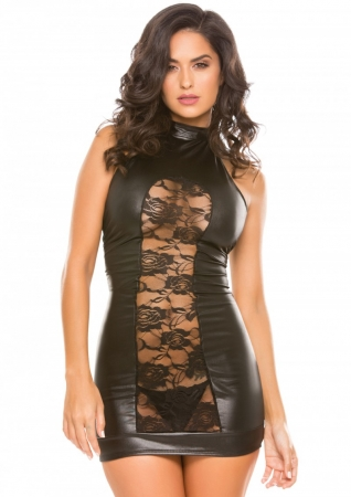 Allure Halter Cut Dress