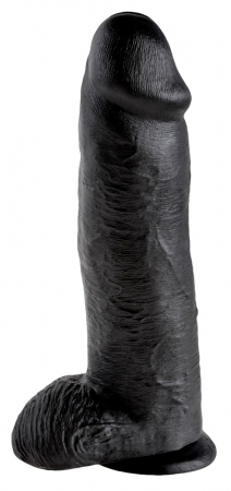 King Cock Dildo 12 Black