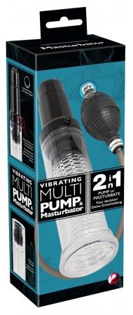 Vibrating Masturbator Pump
