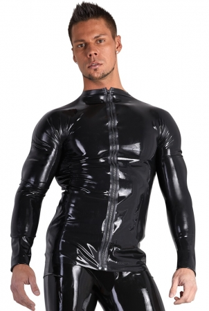Latex Männershirt