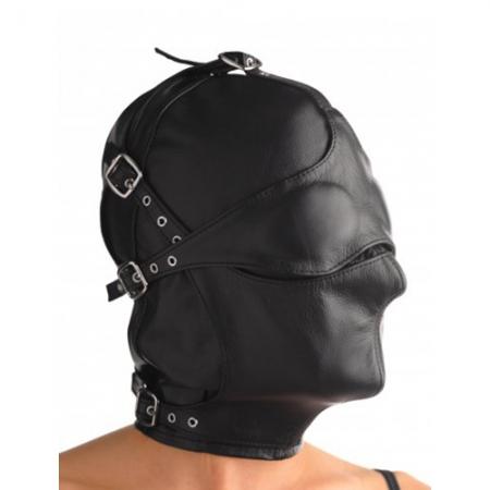 Image of BDSM Lederkappe
