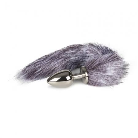 Image of Foxtail-Buttplug Silver