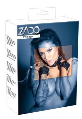 Zado Leder Hals-Handfessel