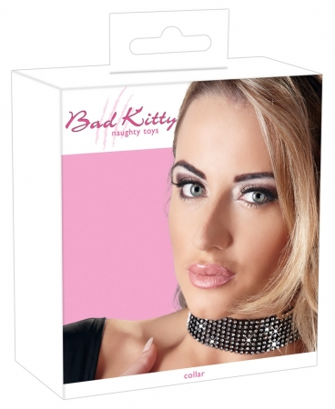 Bad Kitty Strass-Halsband