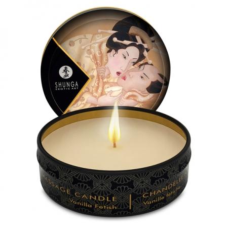 Shunga Massagekerze Vanilla