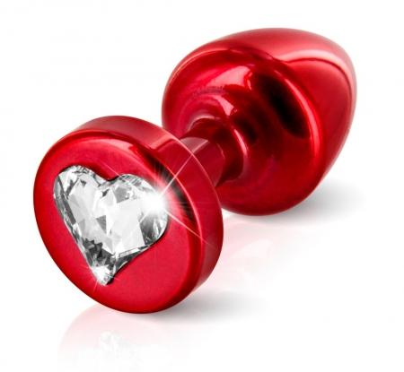 Image of Anni Analplug Heart T1 red