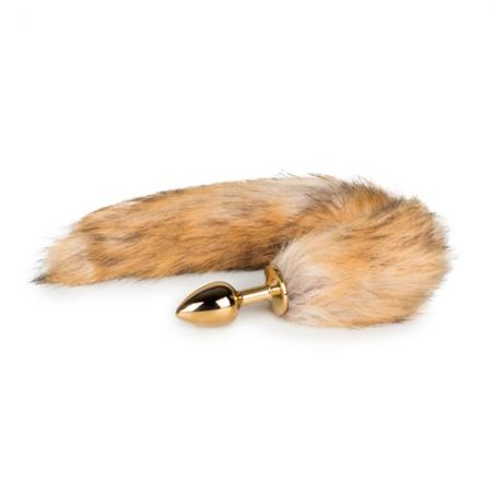 Image of Fuchs-Schwanz Analplug braun