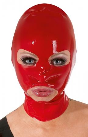 Latex Maske rot