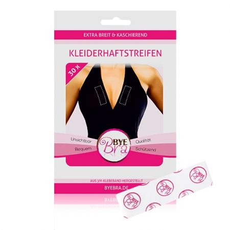 Image of Bye Bra Breast Tape Clear
