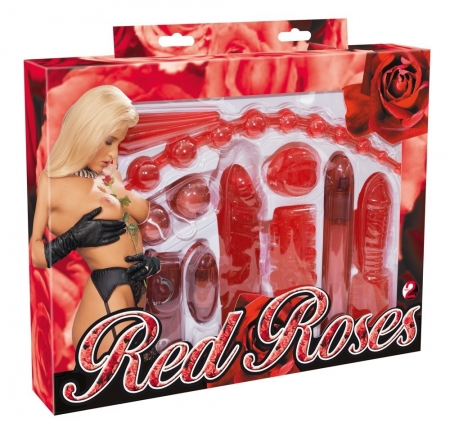 Red Roses Sextoy Set