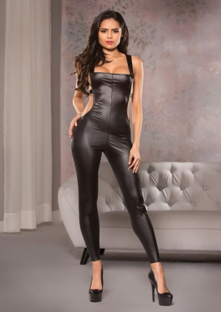 Allure Open Back Catsuit