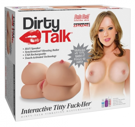 Image of Dirty Talk Titty Fuck-Her Masturbator